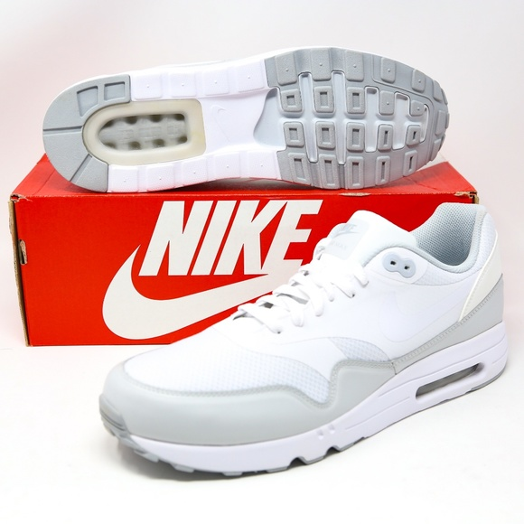 Nike Air Max 1 Ultra 2.0 Essential White Silver 13 NWT